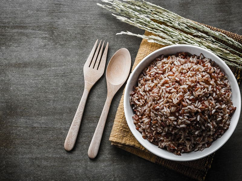 Browncoarse Rice Wooden