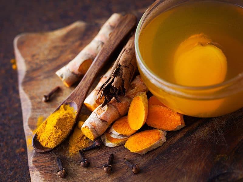 Aromatic Turmeric Tea