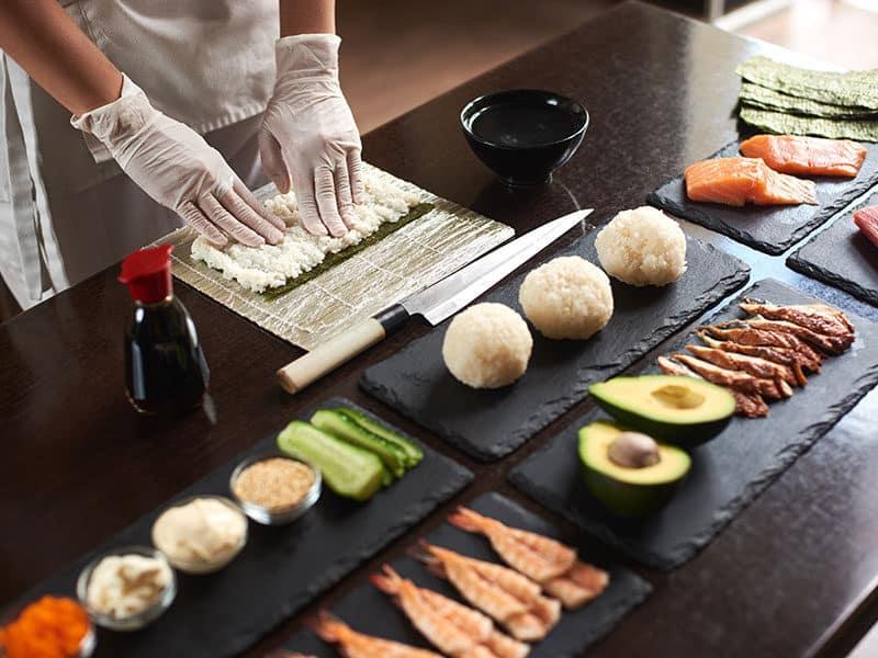 Rolling Sushi Making Kit