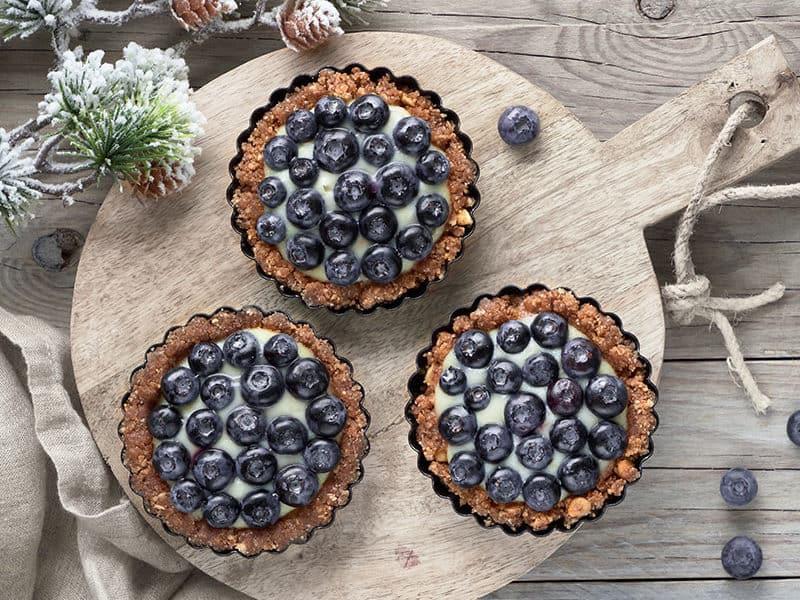 Blueberry Tarts Pan