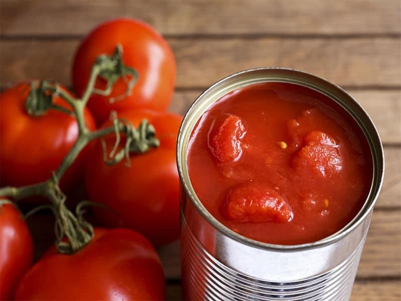 Canned Tomatoe