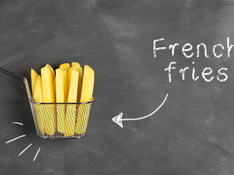 Inscription French Fries