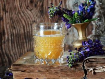 Retro Book Orange Juice