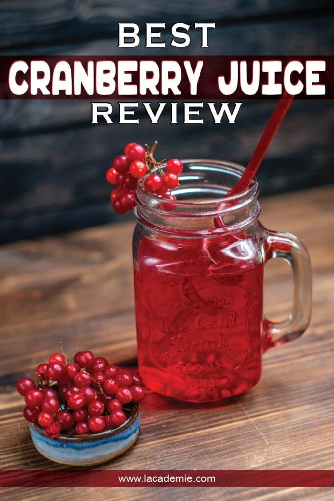 Best Cranberry Juice