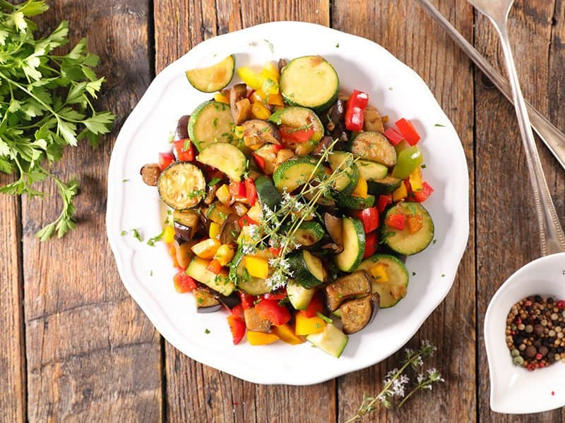 Ratatouille Mixed Stew Vegetable