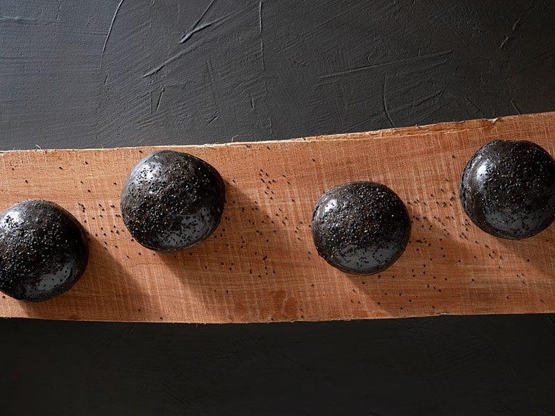 Black Bread Rolls