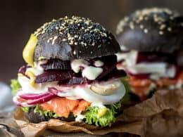 Black Burger Buns Recipe