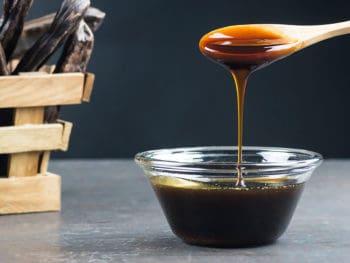 Carob Molasses Glass