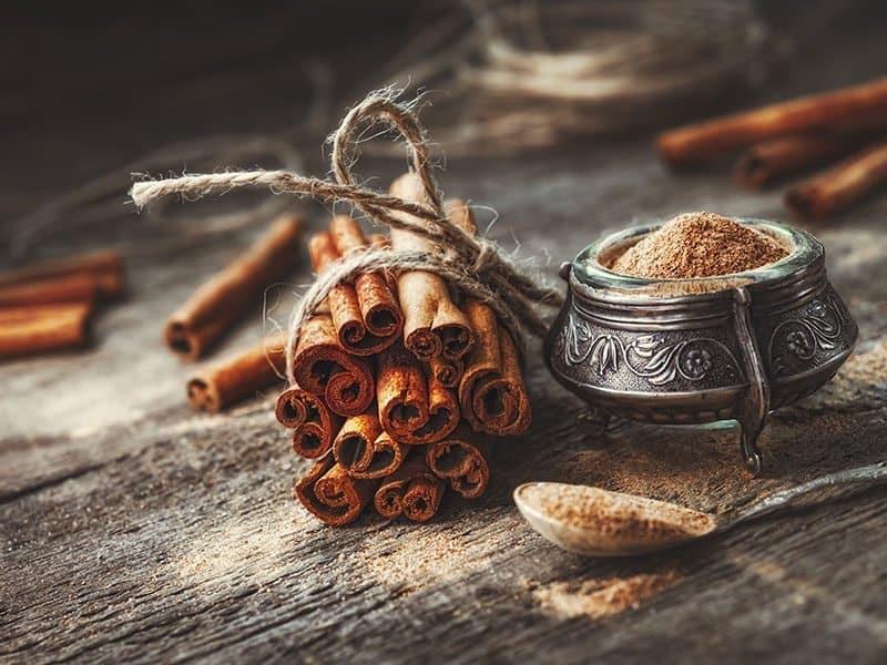 Cinnamon Sticks Tied