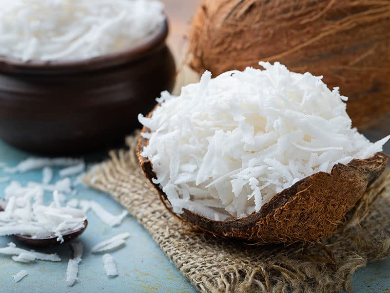 Coconut Flakes Shell