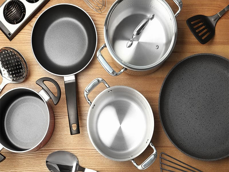 Composition Clean Cookware