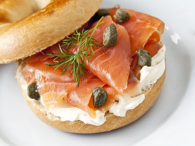 Cream Cheese Smoked Salmon