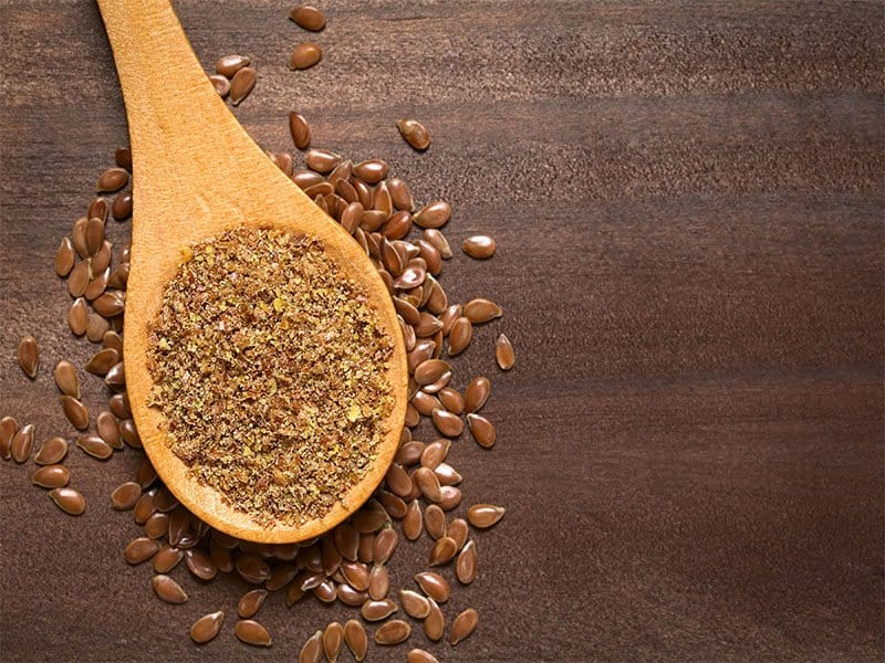 Crushed Brown Flax Seed Linseed