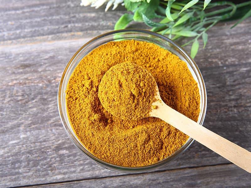 Curry Powder Glass Bowl