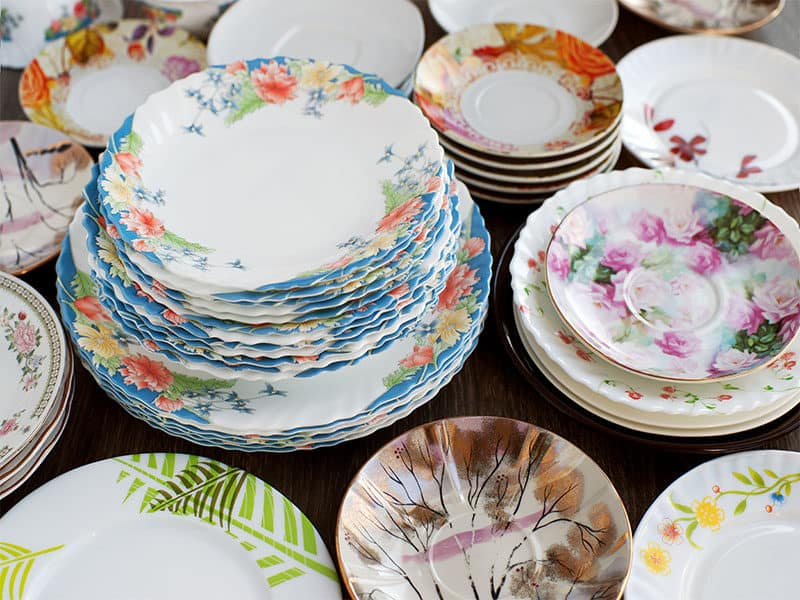 Dishes Tableware Set Plates
