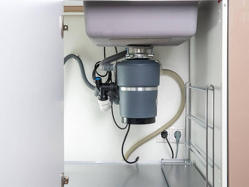 Disposal Under Modern Sink