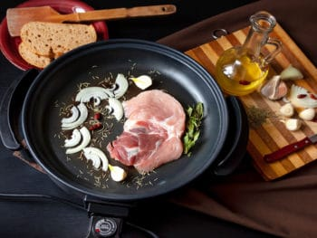 Electric Pan Meat Pork