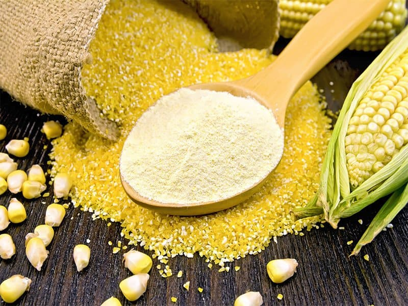 Flour Corn Spoon Cereal
