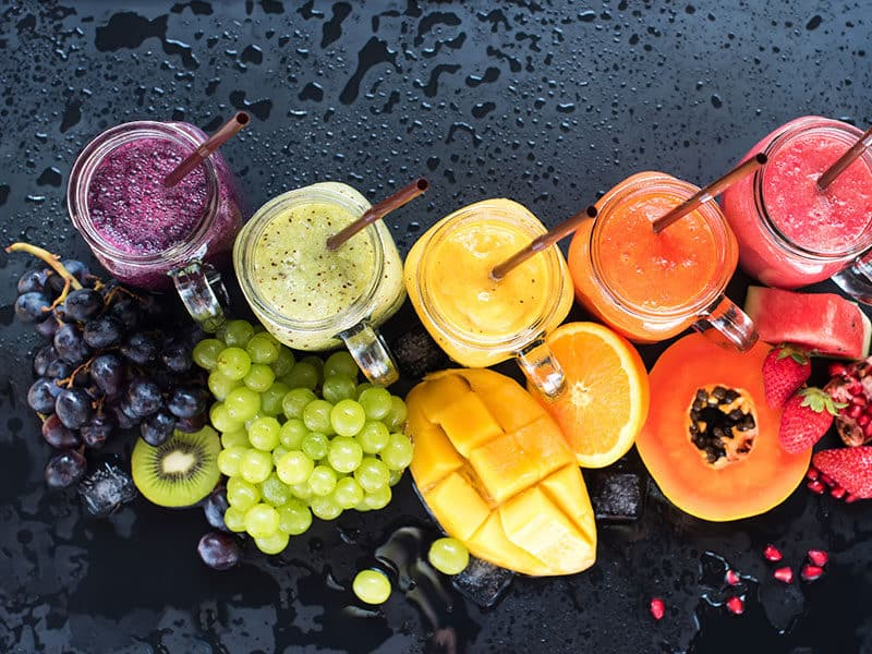 Fresh Color Juices Smoothie