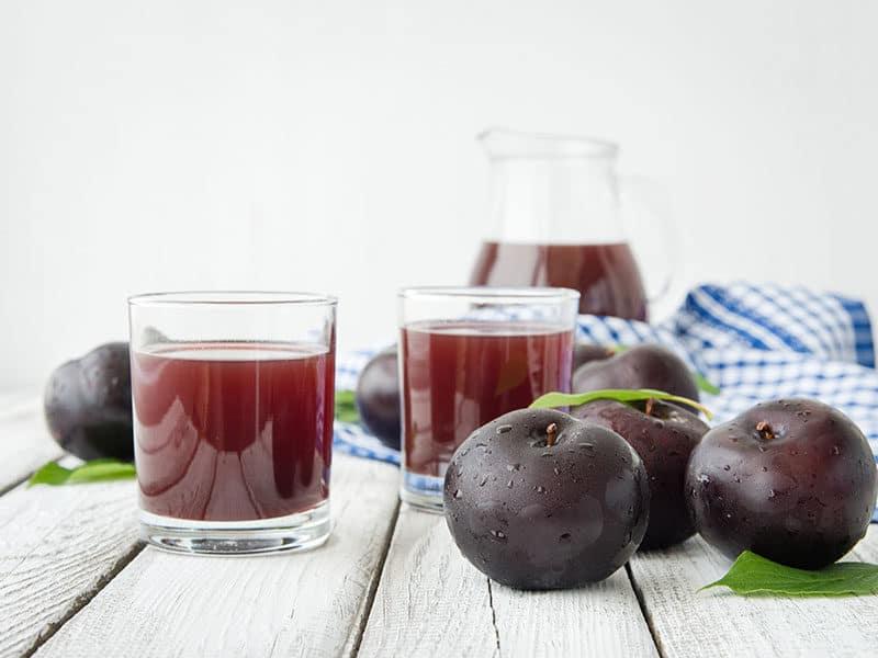 Fresh Plums Juice