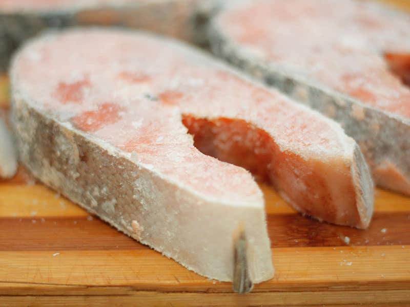 Frozen Salmon Raw