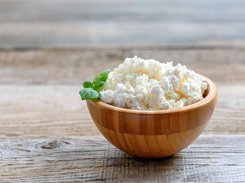 Homemade Cottage Cheese Bowl