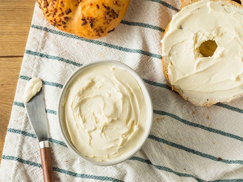 Homemade Fat Cream Cheese
