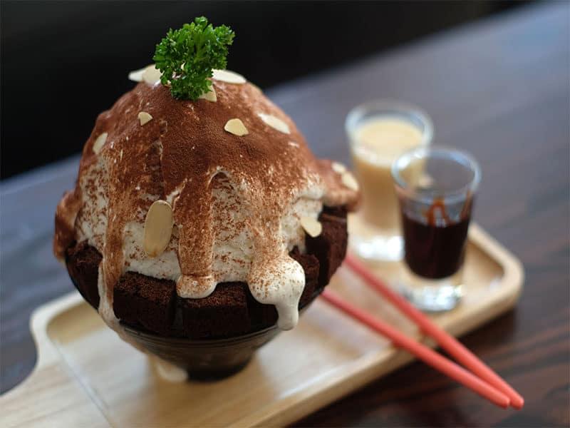 Kakigori Chocolate Japanese