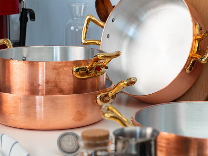 Kitchen Interior Copper