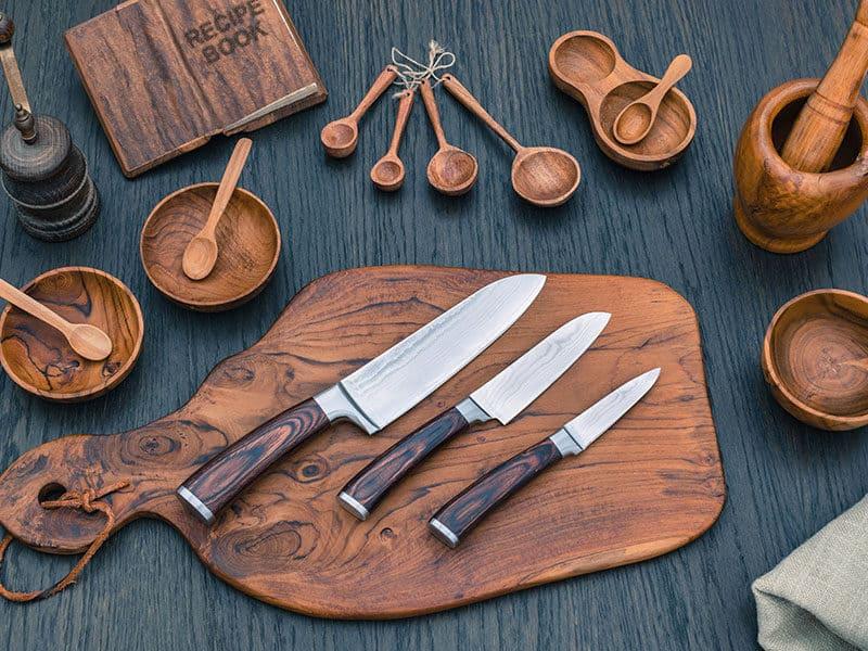 Kitchen Steel Knives