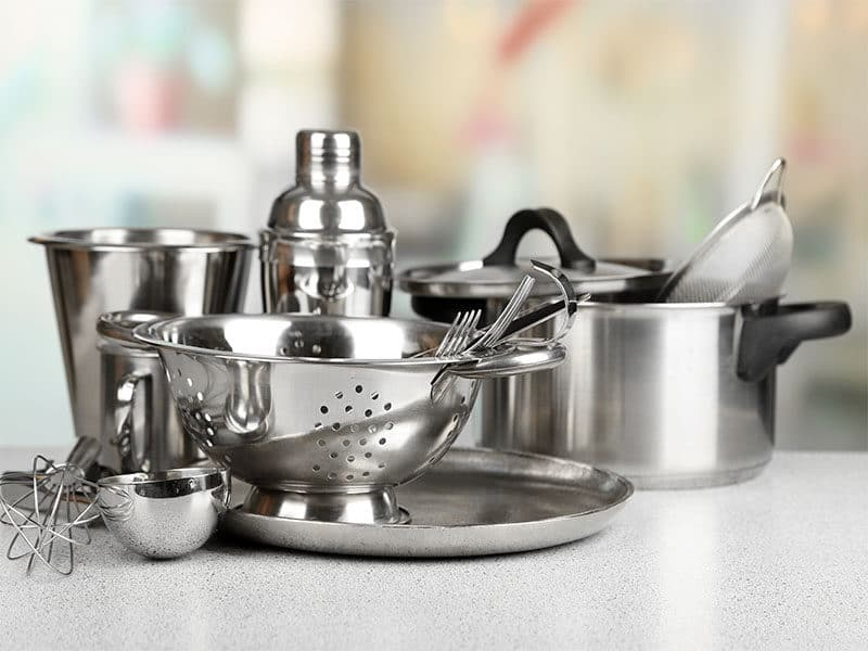 Kitchenware On Table