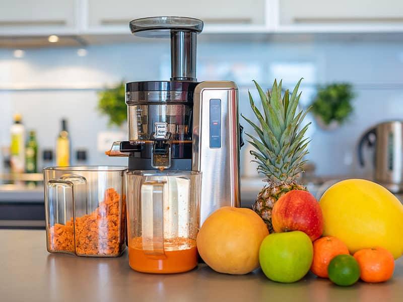 Making Fruit Juice