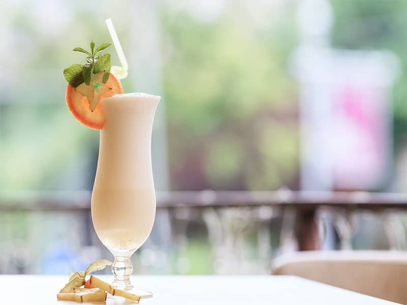 Milk Cocktail Orange