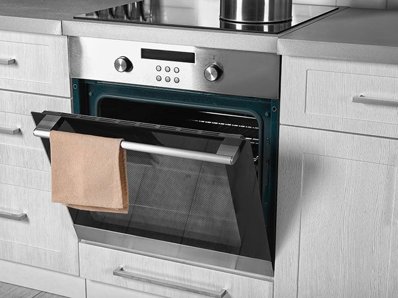 New Electric Oven Kitchen