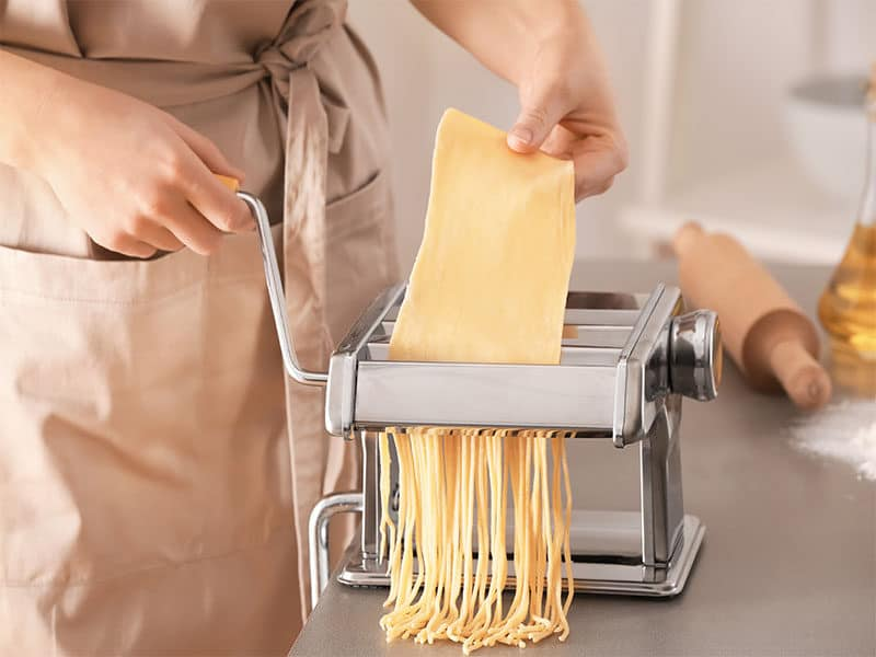 Noodles Pasta Machine Table