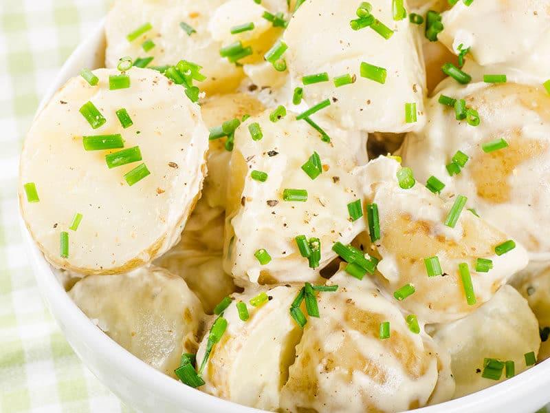 Potato Salad Yoghurt