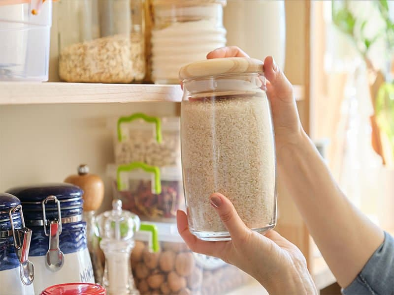 Products Kitchen Storing Ingredients