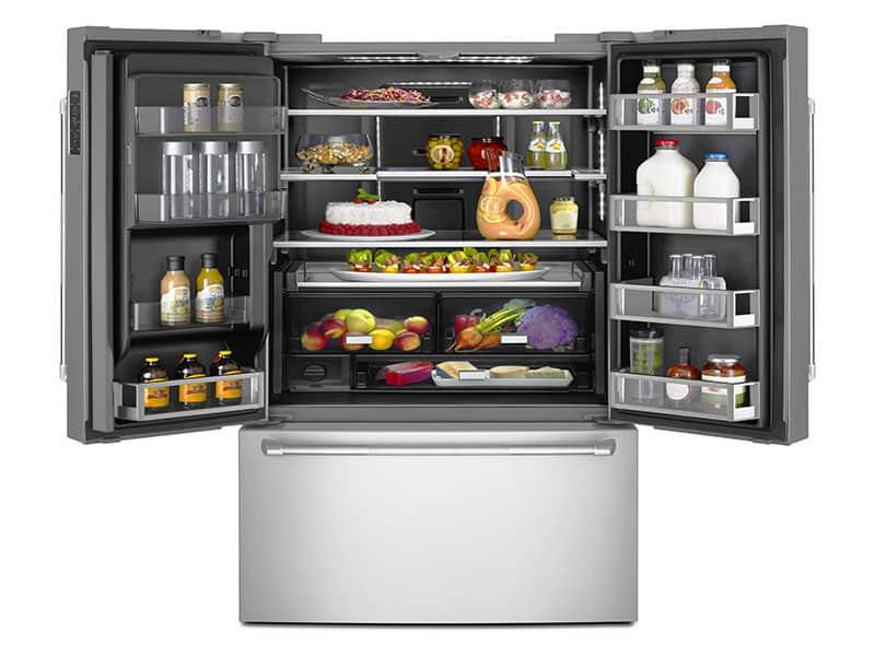 Refrigerator Food Isolated