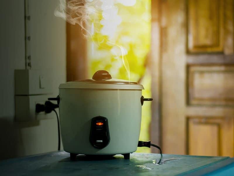 Rice Cooker Kitchen Steam