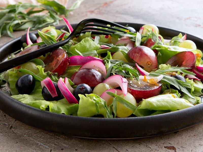 Salad Grapes Tarragon
