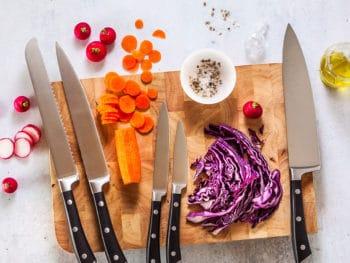 Set New Professional Kitchen Knives
