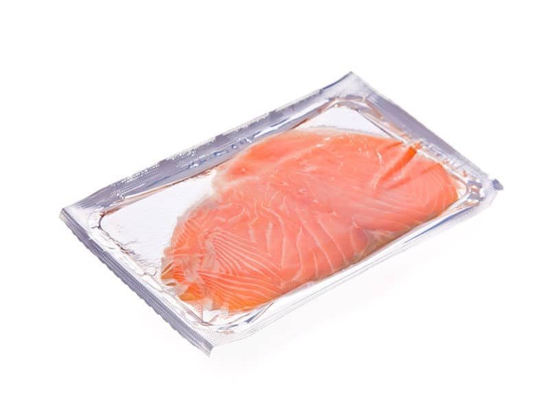 Smoked Salmon Slices Package
