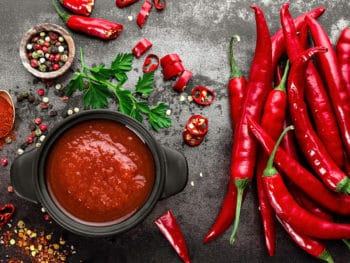 Spicy Chili Sauce Ketchup