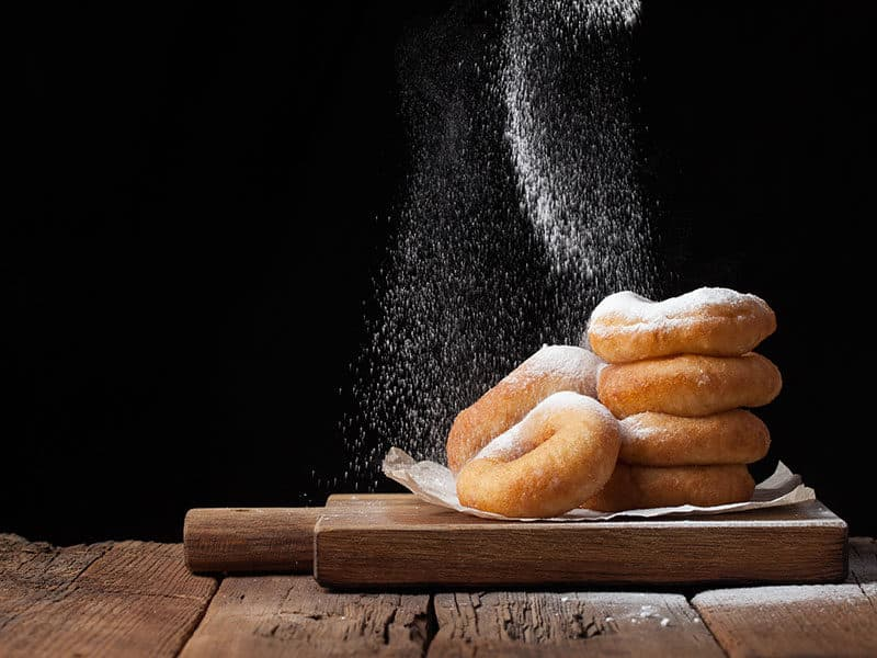 Sprinkles Sweet Donuts Powder