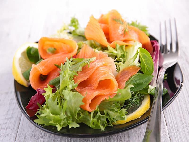 Vegetable Smoked Salmon