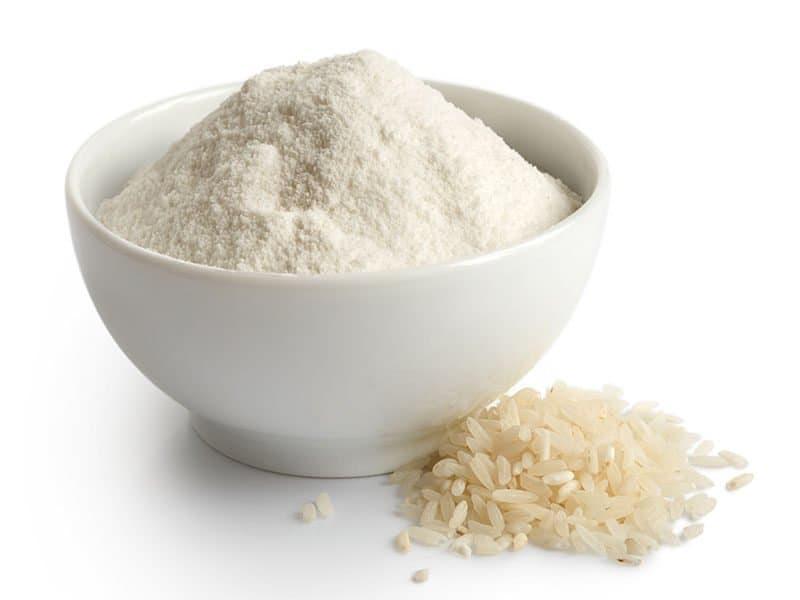 White Rice Flour Ceramic