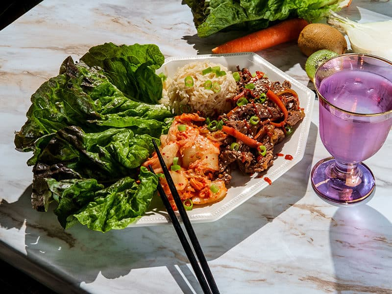 Beef Lettuce Gochujang