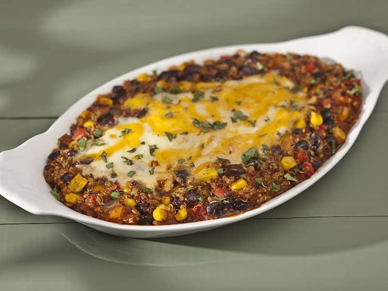 Beef Quinoa Enchilada