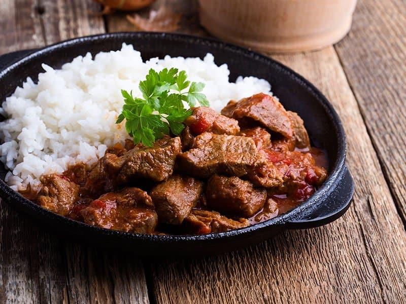 Beef Stew Rice