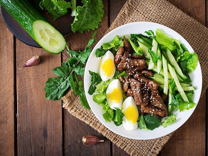 Beef Vegetables Salad